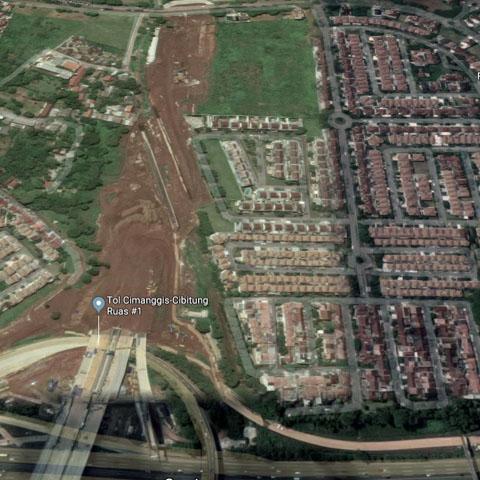 20180512 - area Raffles Hills yang terkena pembebasan lahan