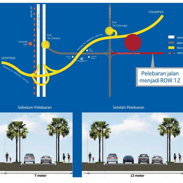 20180524 - rencana pelebaran jalan jonggol