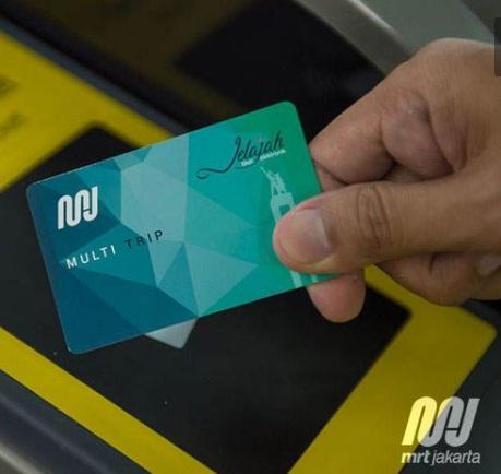 Kartu MRT Jakarta