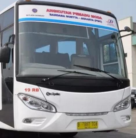 Bus Bandara Cibubur Cileungsi
