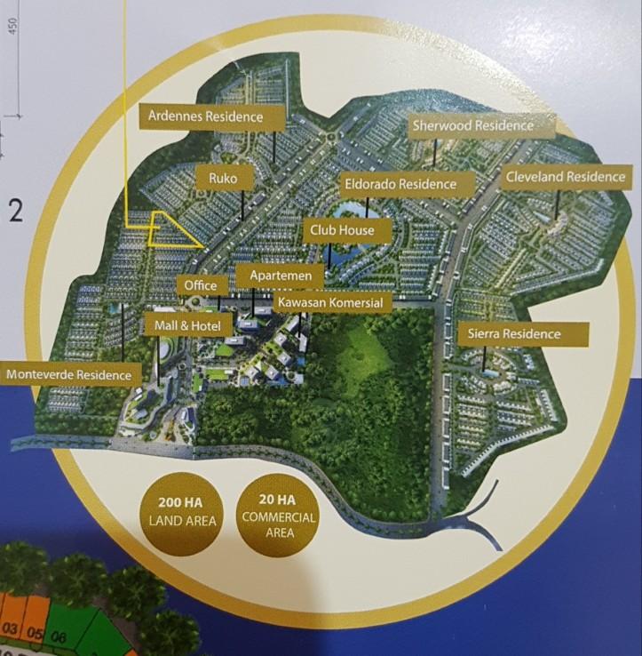 Citraland Cibubur Siteplan
