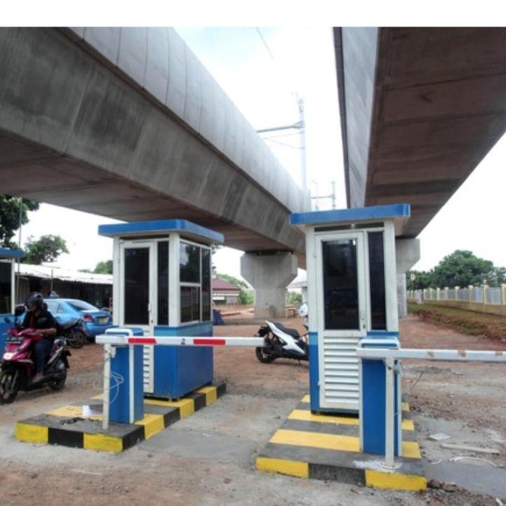 Lahan parkir MRT Jakarta