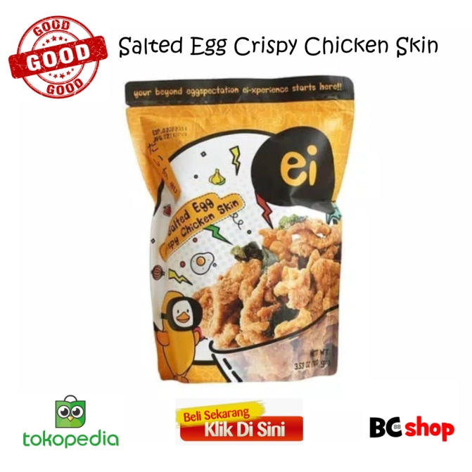ei salted egg crispy chicken skin AF